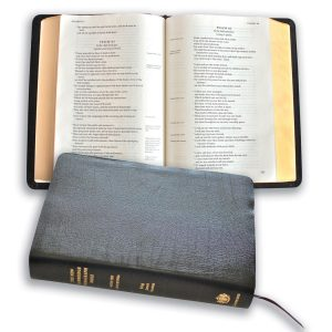 New Cambridge Paragraph Bible with Apocrypha Personal Size Black