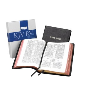 Cambridge KJV/RV Interlinear Black Calfskin