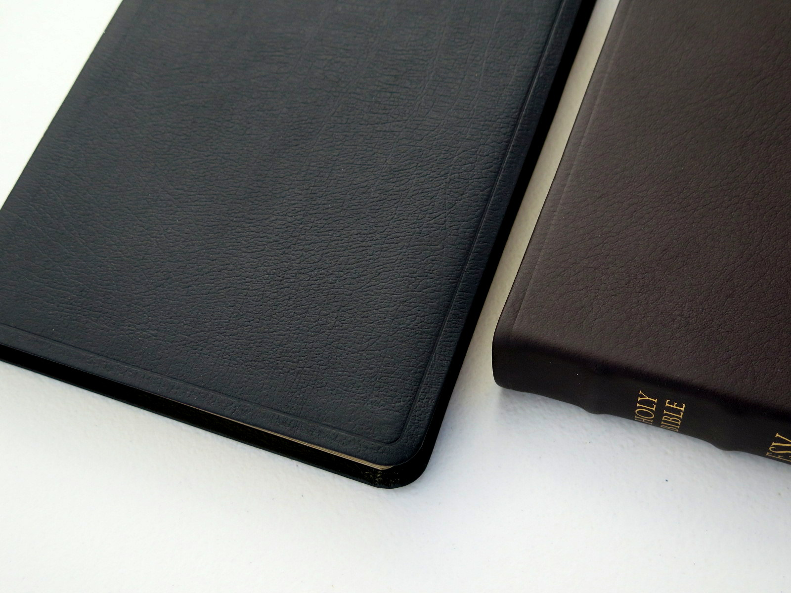 Crossway Esv Large Print Thinline Bible Genuine Leather