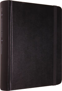 ESV Single Column Journaling Bible (Original, Black, Strap)