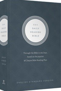 ESV Daily Reading Bible Hardcover