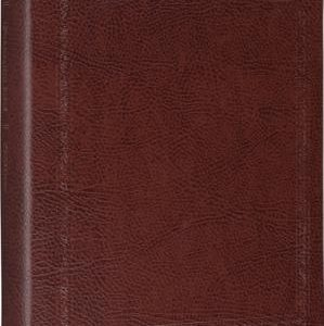 ESV Journaling Bible (Bonded Leather, Mocha, Threshold Design)
