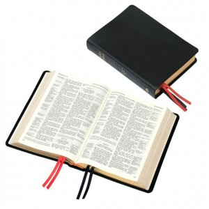 TBS Westminster Reference Bible (calfskin leather)
