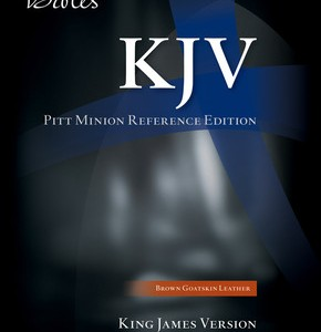 Cambridge KJV Pitt Minion Reference Black Goatskin