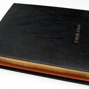 Cambridge KJV Concord Wide-Margin Black Goatskin
