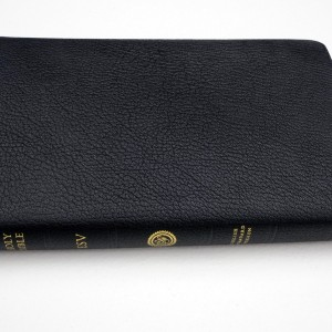 Crossway ESV Heirloom Thinline Bible  Goatskin, Black