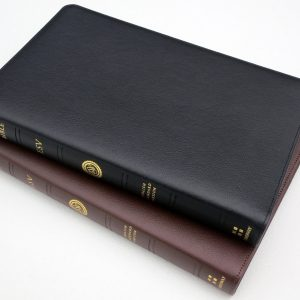 Crossway ESV Heirloom Thinline Bible  Calfskin, Black