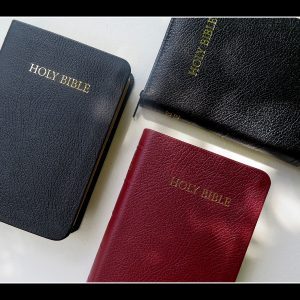 TBS Royal Ruby Text Bible Black Calfskin