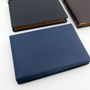 Allan NASB Readers Edition Navy Blue Goatskin