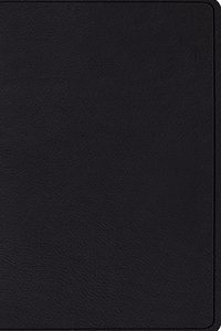 ESV Verse-by-Verse Reference Bible, Top Grain Leather, Black