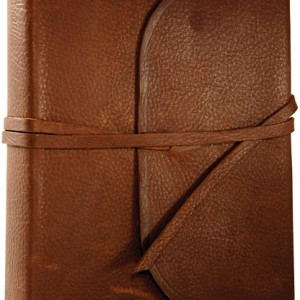 ESV Double Column Bible Journaling(Nat. Leather Strap with Flap)
