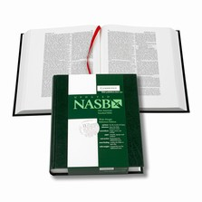 Cambridge NASB Wide-Margin Reference Green Hardcover