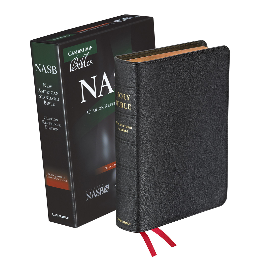 Cambridge NASB Clarion Reference Black Goatskin