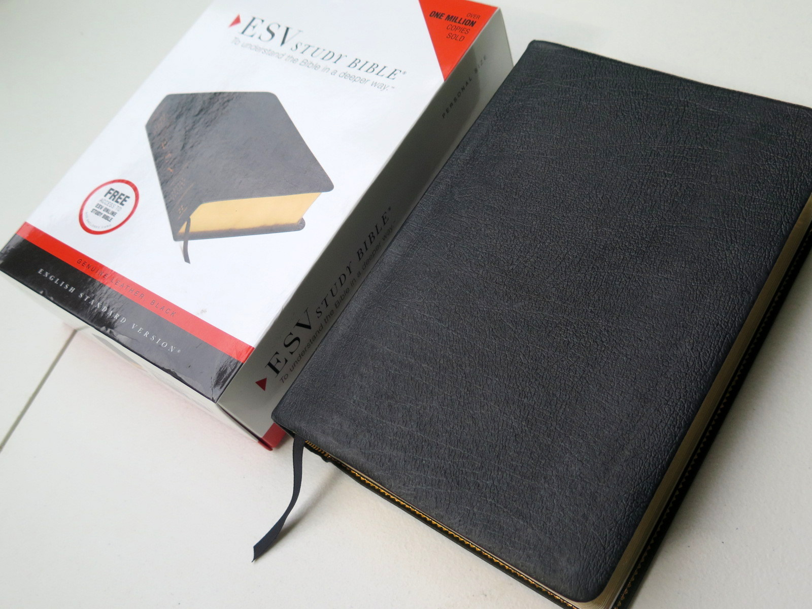 Crossway Esv Study Bible Personal Size Genuine Leather