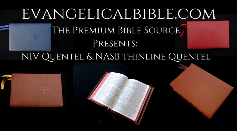 nasb thinline bible hardcover red letter edition
